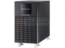 "BATTERY PACK RACK 19"" DLA UPS POWERWALKER VFI 10000 CT LCD 20 AKUMULATORÓW 12V/9AH"