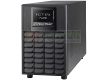 "BATTERY PACK RACK 19"" DLA UPS POWERWALKER VFI 1000/1500 LCD 6 AKUMULATORÓW 12V/9AH"