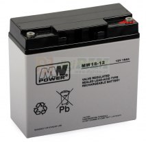 Akumulator MPL POWER ELEKTRO MWS 18-12 12V 18Ah