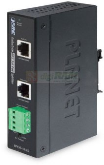 Planet IPOE-162S IP30, Industrial 802.3at