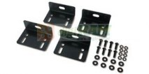 Bolt-down Bracket Kit, Black